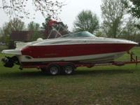 Description IMMACULATE GIANT BOW RIDER!! The 268 SS has