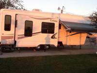 2006 Cypress by Newmar 5th wheel, 36' with 4 slides,