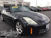 Recent Arrival! 2006 Nissan 350Z in Black, LOCAL TRADE,