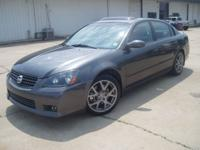 Options Included: N/A2006 Nissan Altima SER,gray/black