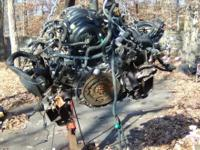 Parts only : Engine 5.6v8 Trans W/heavy tow pkg Front