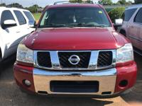 Options:  2006 Nissan Armada Le|Red/|V8 5.6L