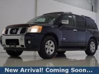 2006 Nissan Armada LE in Majestic Blue, 4WD, This