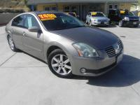Our 2006 Nissan Maxima's driving dynamics earn a step