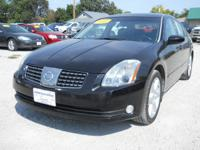 Options Included: N/A2006 Nissan Maxima 3.5L SE Black,