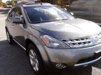 2006 nissan murano lots of space awd all set to tackle