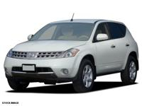 Recent Arrival! 2006 Nissan Murano CVT with Xtronic,