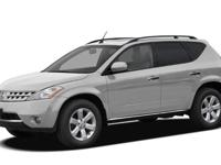 Options:  2006 Nissan Murano Sl|Miles: 102221Color: