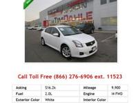 2006 Nissan Sentra 1-8 Sedan White I4 1.8L Gas FWD