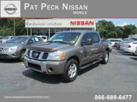 Pat Peck Nissan Mobile presents this 2006 NISSAN TITAN