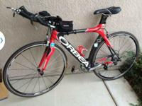 I have a 2006 Orbea Ordu triathlon carbon bike that I