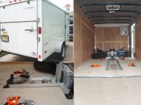 Like New Trailer that I have used as a garage when not