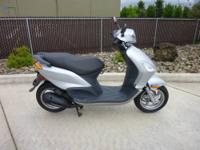 2006 Piaggio Fly 150 Scooter with only 800 actual