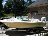 ONE OWNER 2006 Pioneer Venture 197 20' Dual Console,