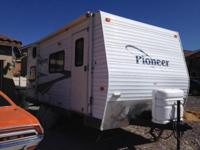 2006 pioneer 180CK travel trailer RV. Serious queries