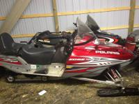 2006 Polaris Indy Touring 320 2 up snowmobile Electric