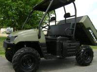 700 XP 4x4. This machine has a powerful twin cylinder