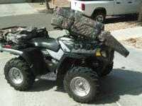 2006 Polaris Sportsman 500. Single cylinder engine-