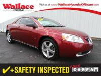 2006 PONTIAC G6 CONVERTIBLE 2dr Convertible GT Our