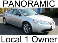 Options Included: N/ALOCAL ONE OWNER! PANORAMIC