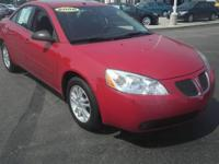 JUST TRADED IN! This 2006 Pontiac G6 is currently going