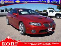 2006 Pontiac GTO 2dr Car Our Location is: Korf