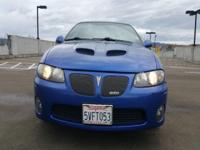 Options:  2006 Pontiac Gto Base 2Dr Coupe|Blue|Abs -