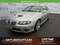 Options:  2006 Pontiac Gto Base|Quicksilver