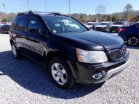 Black 2006 Pontiac Torrent AWD 5-Speed Automatic