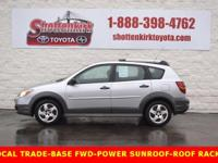 Options:  2006 Pontiac Vibe Base|Sunroof/Moonroof And