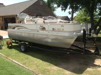 2006 g3 sun catcher pb fish 18, Pontoon boat, nice