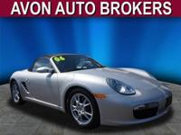 Boxster trim. FUEL EFFICIENT 29 MPG Hwy/20 MPG City!