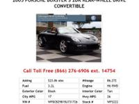 2006 Porsche Boxster S 2dr Rear-wheel Drive Convertible