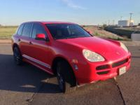 06 Cayenne S Titanium bundle. Vehicle has actually been