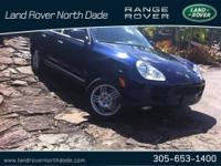 Great Value! 2006 Porsche Cayenne S in a sporty Lapis