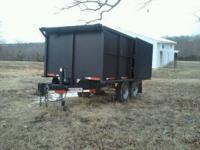 I have a 2006 predator eagle dump trailer for sale that