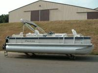 Description LOADED 4-STROKE POWERED PONTOON WITH