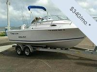 You can have this vessel for as low as $309 per month.