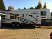 I have a 2006 Ragen FA3405 5th wheel toy hauler for