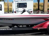 Wanna go fishing? This gorgeous bass boat is ready and
