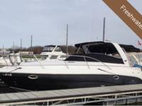 Beautiful Black Hull, Twin 5.0 MPI Mercruiser engine,