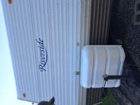 2006 Riverside travel trailer 30 ft long purchased and
