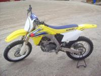 2006 RM-Z 450 Competition Bike 10-15 hrs, like new