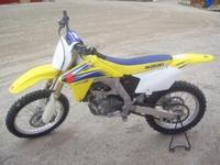 2006 RM-Z 450 Competition Bike 10-15hrs, like new Like
