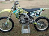 Bike is all stock. Has been raced occasionally by a c