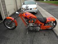 For sale is a 2006 Rogue Biker Custom Chopper Rev Tech