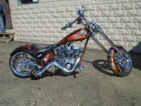 Fully Custom Built Motorcycle! Fully Chromed! Fully Air