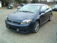 2006 Scion TC -- Blue, 5spd, 115k, 2dsd, MP3, Moon
