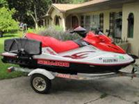 Description FULL FINANCING AVAILABLE! Sea Doo GTX Wake