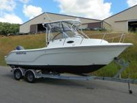 CLEAN 2006 SEA FOX 236 WALKAROUND! A 200 hp Yamaha EFI